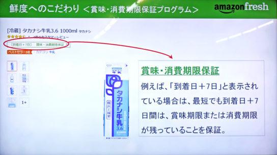 賞味・消費期限保証プログラム
