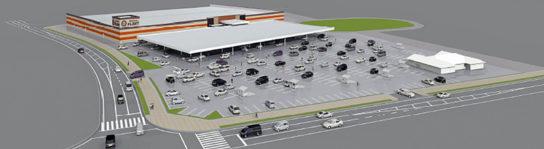 SUPER CENTER PLANT伊賀店の完成予想図
