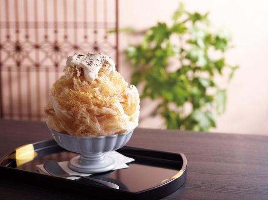 珈琲かき氷
