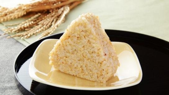 玄米おにぎり(金のいぶき)