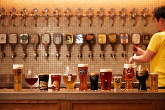 クラフトビールを10種類以上楽しめる