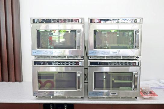 自動認識業務用電子レンジ
