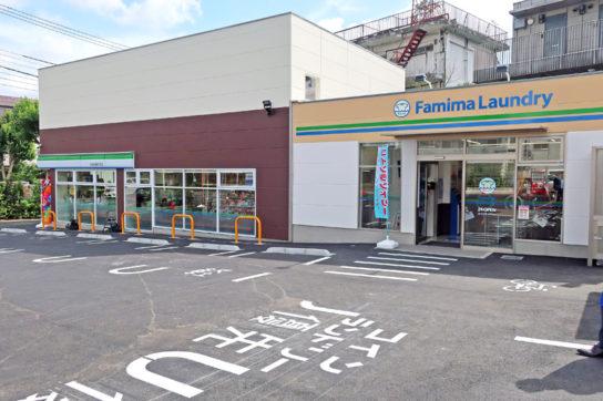 コインランドリー優先の駐車スペース