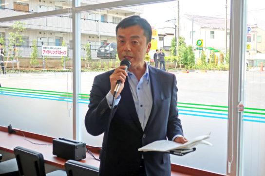 朝雄事業部長