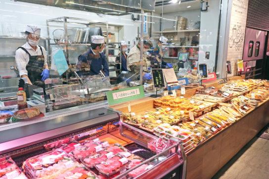生鮮惣菜コーナー