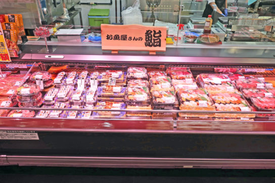 鮮魚部門の寿司