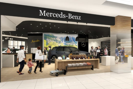 「Mercedes-Benz」アウトレットブティック