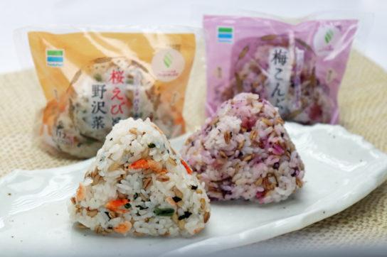 スーパー大麦 桜えびと野沢菜