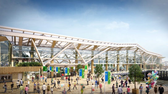 品川新駅のイメージ