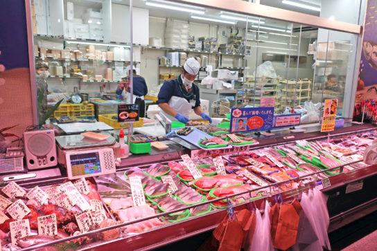 生鮮惣菜売場