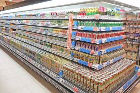 スーパーのチューハイ売場