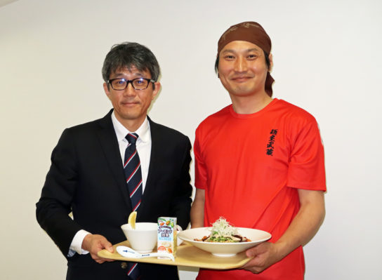 木村部長、矢都木社長