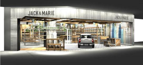 JACK&MARIE2号店