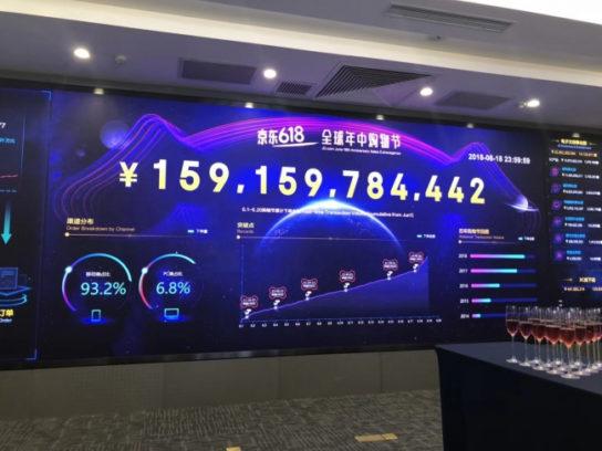 「618セール」で累計注文額2.7兆円を達成