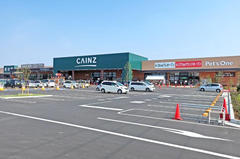 20180630cainz 1 - カインズ/目標年商20億円、設立30周年の集大成「前橋小島田店」