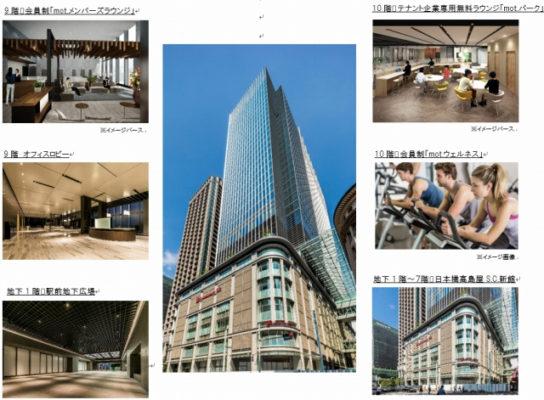 日本橋高島屋三井ビルディングの主要構成