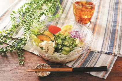 1食分の野菜が摂れるサラダうどん