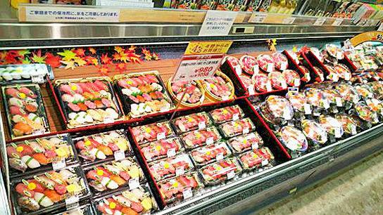 寿司売場のイメージ