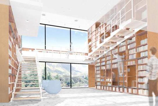 箱根にブックホテル