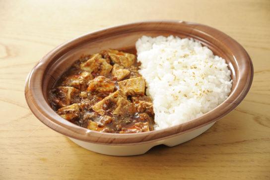 麻婆豆腐ご飯