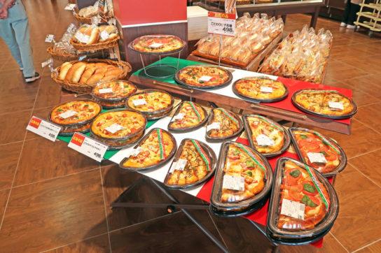 ピザの一例