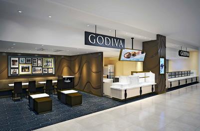 九州初となるゴディバのカフェ