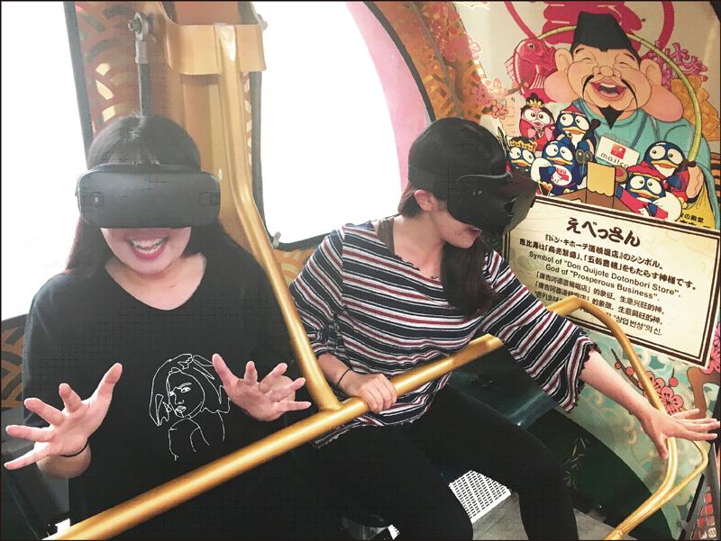 20180731donki - ドン・キホーテ/道頓堀店「えびすタワー」にVR動画導入