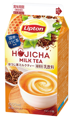 リプトン ほうじ茶ミルクティー