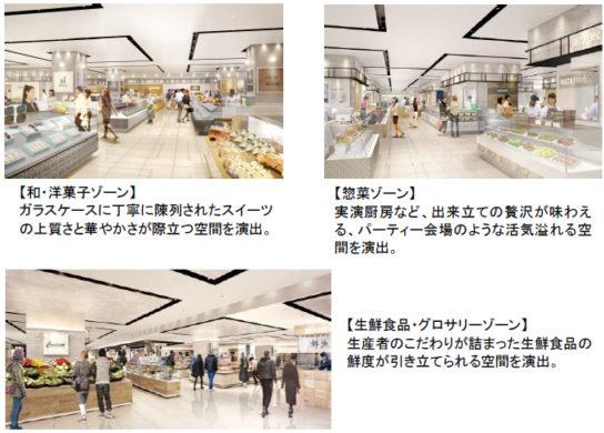 20180807razo2 544x390 - ラゾーナ川崎/食物販「グラン・フード」全面刷新、85店オープン