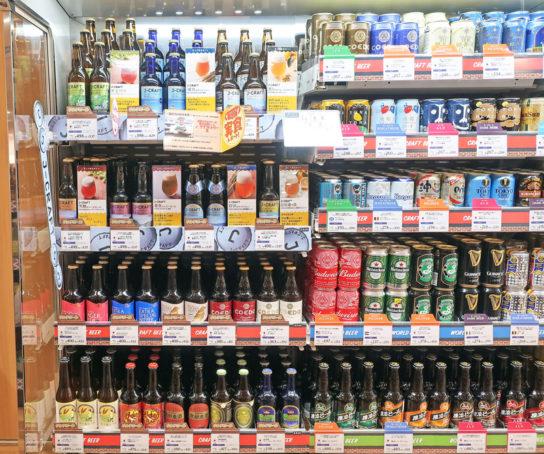 クラフトビール売場(イメージカット)