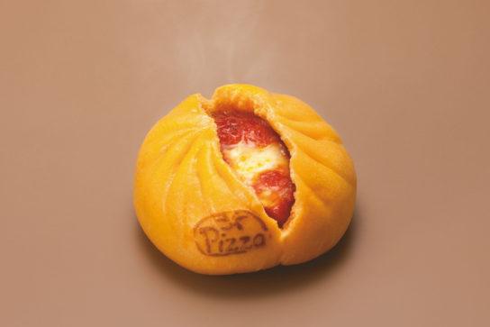 とろ~りチーズと完熟トマトのピザまん