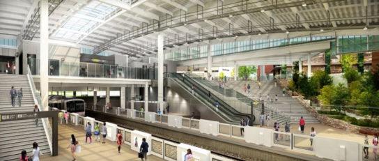 新しくなる「南町田グランベリーパク駅」イメージ