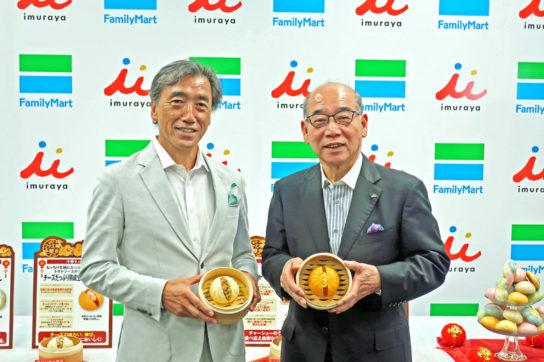 澤田社長(左)と浅田会長(右)