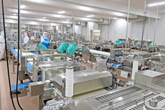 点心・デリ工場の全景