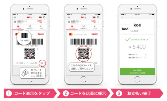 20180821rakuten1 544x330 - ストライプ/アプリ決済「楽天ペイ」導入