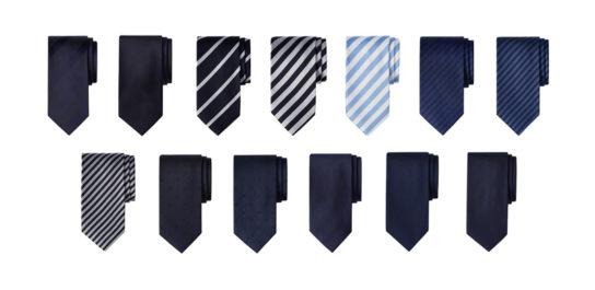 PB「ZOZO」に35種類のネクタイ