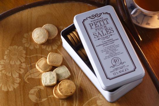 レ・ザンジュのプティ・フール・サレ1缶