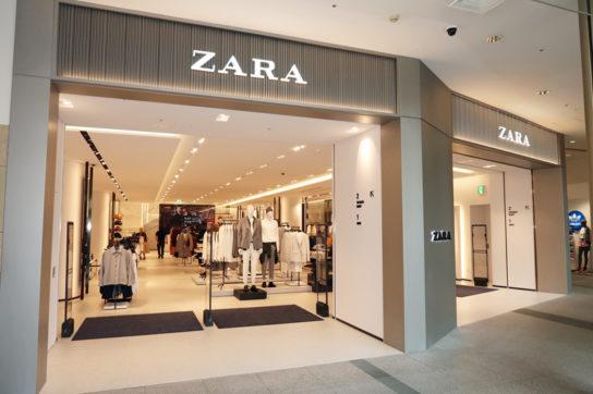 ZARA「六本木ヒルズ店」1階
