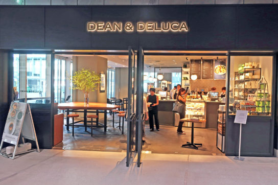 DEAN&DELUCA カフェ渋谷ストリーム