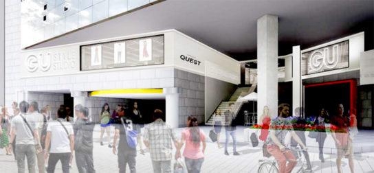 次世代型店舗「GU STYLE STUDIO」の店舗イメージ