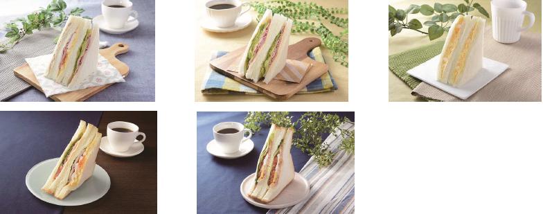 ローソン/サンドイッチを刷新、「プレミアムサンドシリーズ」も発売
