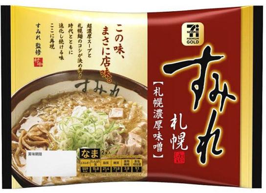 セブンプレミアム ゴールド すみれ札幌濃厚味噌味2食入り