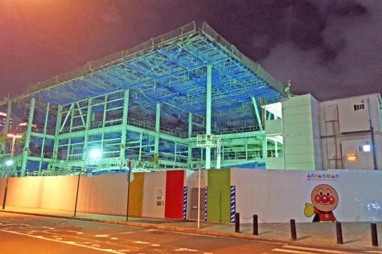 建設中の大型店舗(イメージ)