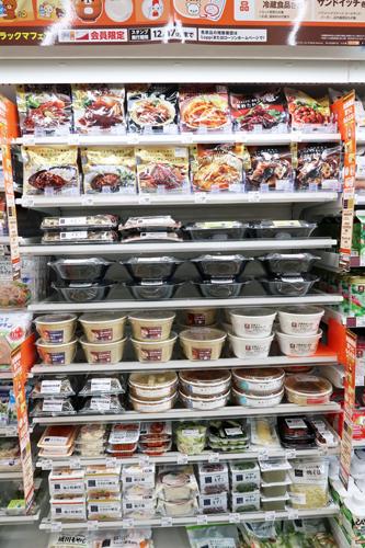 即食性の高い食品のカテゴリー拡大