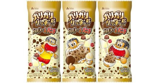 ガリガリ君リッチクッキー&バニラ
