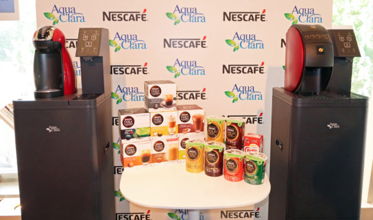 コーヒーマシンとウォーターサーバー一体型マシン