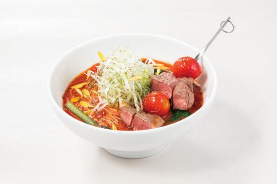 太陽のラムスパイストマト麺