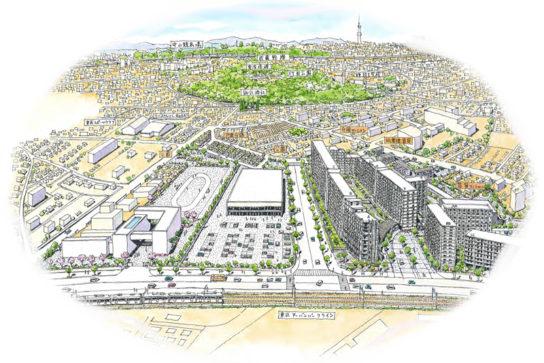 「AGCテクノグラス中山事業場」跡地での大規模複合開発プロジェクト