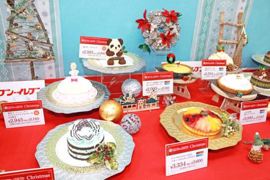 20181102seven 4 544x362 - セブンイレブン/クリスマスで個食対応「アソート」「4号」ケーキ拡充