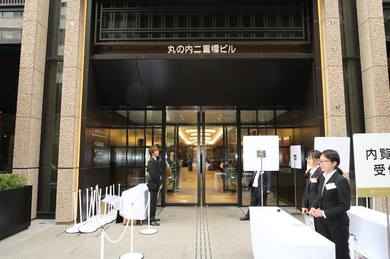 20181105maru1 - 二重橋スクエア/日本初5店含む25店・2700m2の商業施設オープン